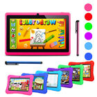2017 Quad Core 7'' Tablet 16GB HD Android 4.4 Dual Camera Bundle for Kids Gift