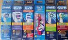 BRAUN ORAL B TOOTHBRUSH HEADS TRIZONE 3D WHITE PRECISION CLEAN FLOSS ACTION ORAL