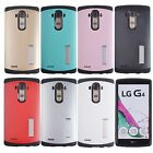 For LG G4 Armor Hybrid Rubber Rugged Hard Impact Stand Case Cover with Kickstand