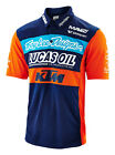 Troy Lee Designs KTM Team Mens Pitshirt Navy Blue/Orange