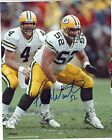 Packers Center FRANK WINTERS Signed 8x10 Photo #6 AUTO ~ Super Bowl XXXI Champ