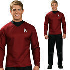 Mens Star Trek Scotty Top Shirt Fancy Dress Costume Official Product Rubies on eBay