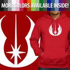 Star Wars Legacy Jedi Order Symbol Logo Pullover Hoodie Jacket Hooded Sweater $33.64 USD on eBay