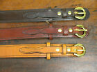"1 1/4"" WIDE AMISH HAND MADE RANGER BELTS"