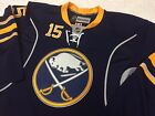 REEBOK ON ICE JACK EICHEL PREMIER EDGE AUTHENTIC BUFFALO SABRES HOCKEY JERSEY