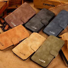 "Cowhide Flip Leather Wallet Card Stand Case Cover For iPhone 6 4.7"" Plus 5.5"""