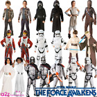 NEW Official Star Wars Jedi Force Awakens Boys Girls Kids Fancy Dress Costume