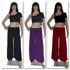 BAUCHTANZ HOSE BELLY DANCING TROUSERS HIP SCARF KARNEVAL TRIBAL KOSTÜM L - XL