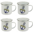 Nautical Explorer Traditional Quality Tin Mugs New Z64 Z45