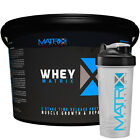 WHEY PROTEIN POWDER - MUSCLE GROWTH - COOKIES & CREAM - 2 SIZES BY MATRIX