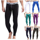 MUSCLE MENS THERMAL UNDERWEAR LONG JOHNS UNDERPANTS STRETCH WINTER WARM LEGGINGS
