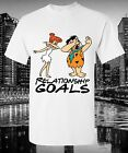 Dabbin Relationship Goals T-Shirt Funny Dance Flinstones Cartoon Fred Wilmer