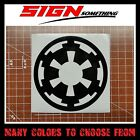 Galactic Empire Decal / Sticker Star Wars $3.49 USD on eBay