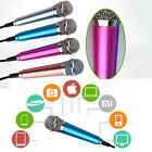 Mini Portable 3.5mm Microphone Stereo Condenser Mic for iPhone PC Laptop Style