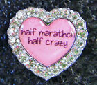 Crystal Shoe Charms Bling Marathon Running MORE
