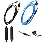 Audio Cable with Mic For Ultimate Ears UE TF10 SF3 5EB 5pro 15vm To iOS Android