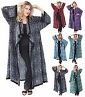 J337S IN STOCK MOROCCAN JACKET COAT BATIK MISSES PLUS SIZE POCKET WOMENS FASHION
