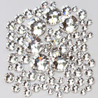 Crystal Clear Nail Art Rhinestones ss3 4 5 6 8 10 12 16 20 30 34 40 Nail Salon