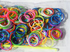 Colorful Loom Bands Rubber Band Bunte Gummibänder 300St.