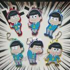 SIX SAME FACES Konya wa Saikou Mr.Osomatsu San Rubber Pendant Keychain Key Ring