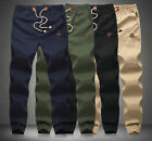 Stylish Mens Sweatpants Jogger Baggy Harem Casual Pants Slacks Cargo Trousers