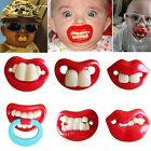 Funny Dummy Dummies Pacifier Novelty Teeth Baby Child Soother Goofy Hot