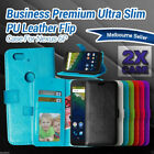 2x Nexus 6P Case for Google Huawei Flip Leather Wallet Cover