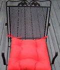 """20""""x20"""" IN/OUTDOOR UNIVERSAL PATIO TUFTED CHAIR CUSHION -Choose Solid Colors"""