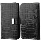 """Universal Smartphone Cover Folio Leather Flip Case Wallet Pouch Size 5.2""""-6.0"""""""