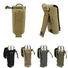 1X Molle Loop Attachment Closure Folding Water Bottle Airsoft Pouch Holder Bag
