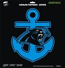 Carolina Panthers Anchor Design NFL Football Cam Newton Vinyl Decal Car Sticker