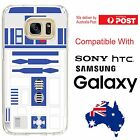 Android Silicone Jelly Cover Case Star Wars R2D2 Jedi Robot Sidekick - Coverlads $14.95 AUD