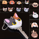 Kyпить Cute Puppy Pug Cat Rabbit Key Cover Cap Keychain Key Ring PVC Key Case Unisex на еВаy.соm
