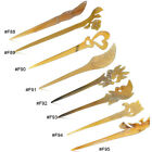 Pc Women Hair Stick Pin Hairpin Natural Horn Hair Accessory Handmade Jewrelry