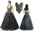 FairOnly Woman's Long Evening Formal Prom Dress Ball Gown Size 6 8 10 12 14 16