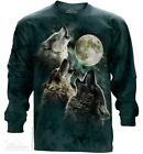 New The Mountain Three Wolf Moon Long Sleeve T Shirt