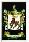 MCCARTHY Family Coat of Arms Crest - Choice of Mount or Framed