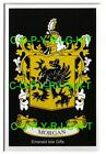 MORGAN Family Coat of Arms Crest - Choice of Mount or Framed