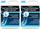 HYGIENIC FILTER CARTRIDGE CLEANER HOT TUBS POOLS 2 x  5 LITRES