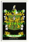 O'REILLY Family Coat of Arms Crest - Choice of Mount or Framed
