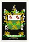ROONEY Family Coat of Arms Crest - Choice of Mount or Framed