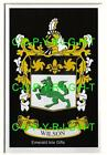 WILSON Family Coat of Arms Crest - Choice of Mount or Framed