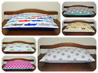 Plush/cotton pillow 40/60cm/ soft/ reversible/for cot/cotbed/handmade