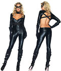 LEG AVENUE Cat Girl Superhero Sexy Vixen Womans Fancy Dress Costume 85015