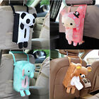 Cute Rabbit Bear Home Office Car Rectangle Tissue Box Cover Holder Paper Box