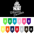 WEDDING CRASHER CAKE DOG BANDANA Small or Large Choice of 4 Colours