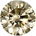Natural Extra Fine Light Champagne Diamond - Round - VS2-SI1 - Africa - Extra Fi
