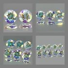 3mm Matched Lot 2,3,6,10pcs Round Cut Natural MERCURY MIST TOPAZ