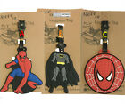 Batman Disney kids Travel Luggage Tag School Bag Cartoon School Tag NEW $7.95 AUD