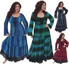 J413S IN STOCK MAXI DRESS LONG SLEEVE SMOCKED LACING MISSES PLUS STUNNING WOMENS